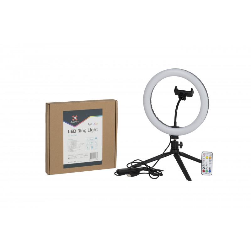 Quadralite LED Ring Light 10 cali