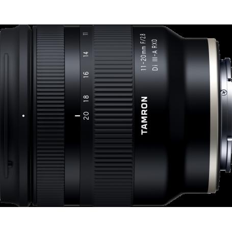 Tamron 11-20mm f/1.8 Di III-A RXD Sony E