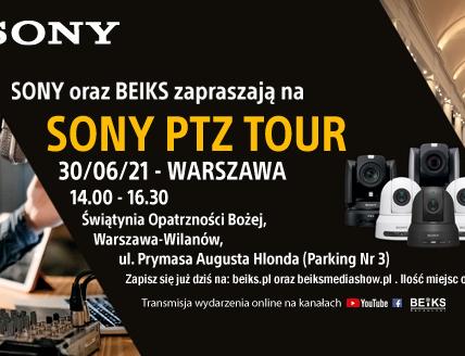 PTZ Sony Warszawa