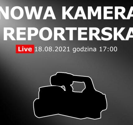 nowa kamera reporterska